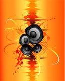Sound splash Stock Image