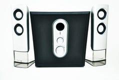 sound stereo- system Royaltyfria Bilder