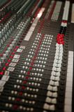 Sound studio mixer Stock Photography