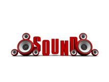 Sound symbol Stock Photo