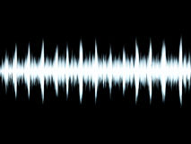 Sound symbol. Sound wave created in ps Stock Photo