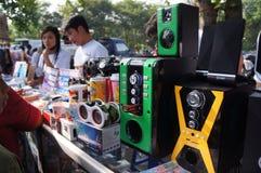 sound system Royaltyfri Fotografi