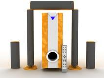 Sound System Royalty Free Stock Photos