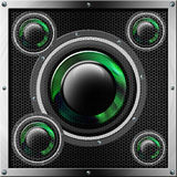 Sound System Background Stock Photography
