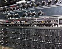 sound system för förstärkare Royaltyfria Bilder