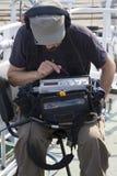 sound tekniker fotografering för bildbyråer
