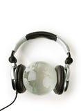 sound värld Fotografering för Bildbyråer