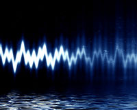 Sound vinkar vektor illustrationer