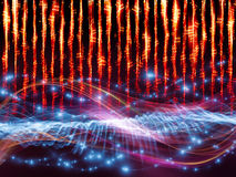Sound visualization Royalty Free Stock Images