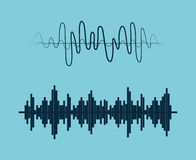 Sound of voice. Graphic design, vector illustration eps10 vector illustration