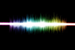 Sound wave 0003 Royalty Free Stock Photos