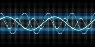 sound wave Royaltyfria Bilder