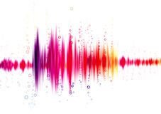 Sound wave Royalty Free Stock Photo