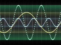 Sound wave Stock Photography