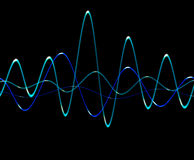 Sound Wave 3 Stock Image