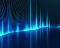 sound wave Fotografering för Bildbyråer