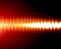 Sound wave Royalty Free Stock Photos