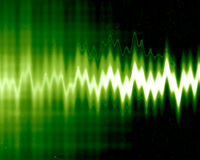 Sound wave Stock Photo