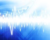 Sound wave Stock Image