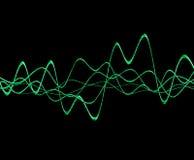 Sound Wave 6 Arkivfoto