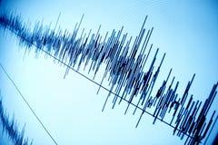 sound wave royaltyfri foto