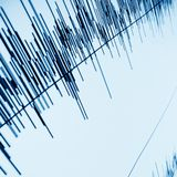 Sound wave. Sound audio wave abstract background Royalty Free Stock Photo