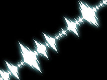 Sound Wave Background Shows Equalizer Or Amplifier Stock Photos