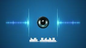 Sound Wave Background Stock Animation Stock Photography