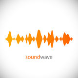 Sound wave. Design element. Vector Illustration. Sound wave. Design element. Design element. Vector Illustration Royalty Free Stock Photos