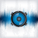 Sound wave design Royalty Free Stock Photo