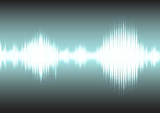 Sound wave and electric signal background. Sound wave and electric signal Stock Photography