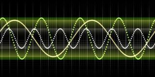 Sound wave graphic Stock Photos