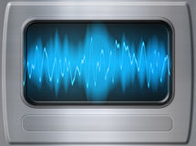 Sound wave metal Royalty Free Stock Images