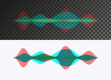 Sound wave Royalty Free Stock Images