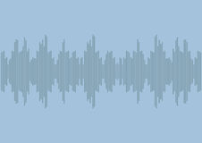 Sound wave radio | voice of music equalizer design | digital technology waveform Royalty Free Stock Photos