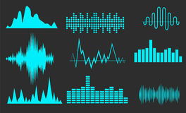 Sound wave Stock Image