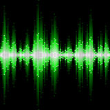Sound waveform Royalty Free Stock Photography