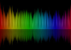 Sound waveform Stock Photography