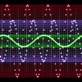 sound waves Vektor Illustrationer