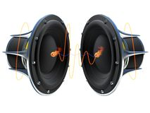 Sound Waves Royalty Free Stock Photography