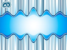Sound waves background Royalty Free Stock Photos