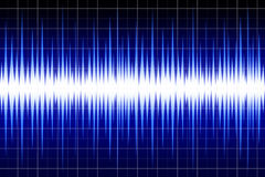 Sound waves Royalty Free Stock Photo