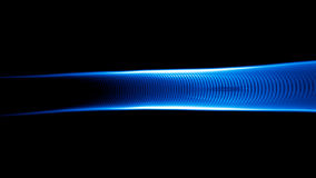 Sound waves in the dark Royalty Free Stock Images