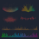 Sound waves design Stock Photography