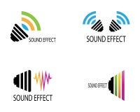 Sound waves vector illustration. Design template, amplitude, audio, beats, club, concept, digital, disco, earthquake, element, equalizer, form, frequency stock illustration