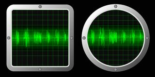 Sound waves Royalty Free Stock Image