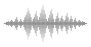 Sound Waves Royalty Free Stock Images