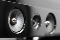 Soundbar högtalare Royaltyfria Foton