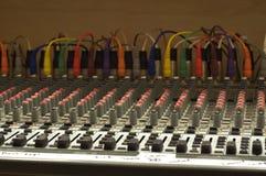Soundboard церков Стоковые Изображения