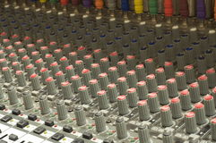 Soundboard церков Стоковое Изображение RF
